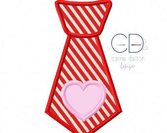 Tie clipart valentine Boy Applique Boy Valentine Design