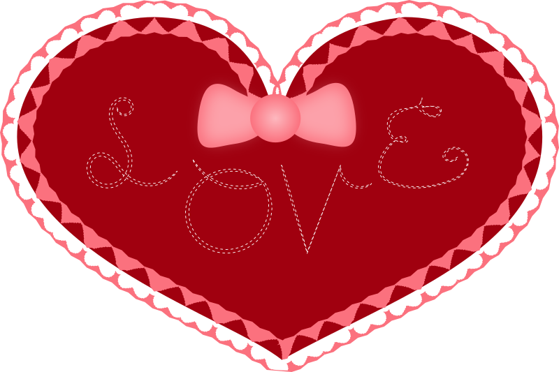 Tie clipart valentine Heart Day (PNG) MEDIUM IMAGE
