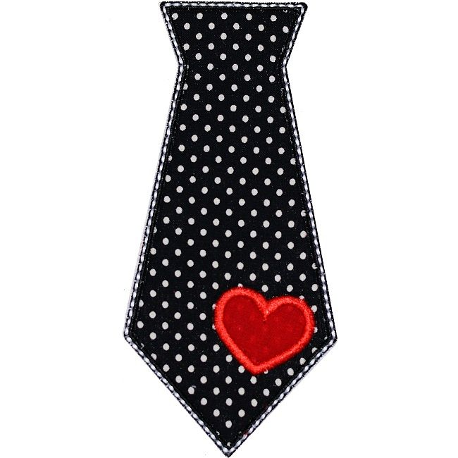 Tie clipart valentine Pinterest images Embroidery 24 6)