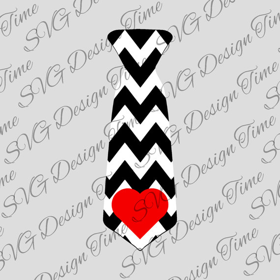Tie clipart valentine Tie Valentine Silhouette Necktie File