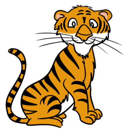 Tiger clipart Tiger cat 2 Tiger cartoon