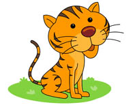 Tiiger clipart Illustrations paws clipart tail Clipart