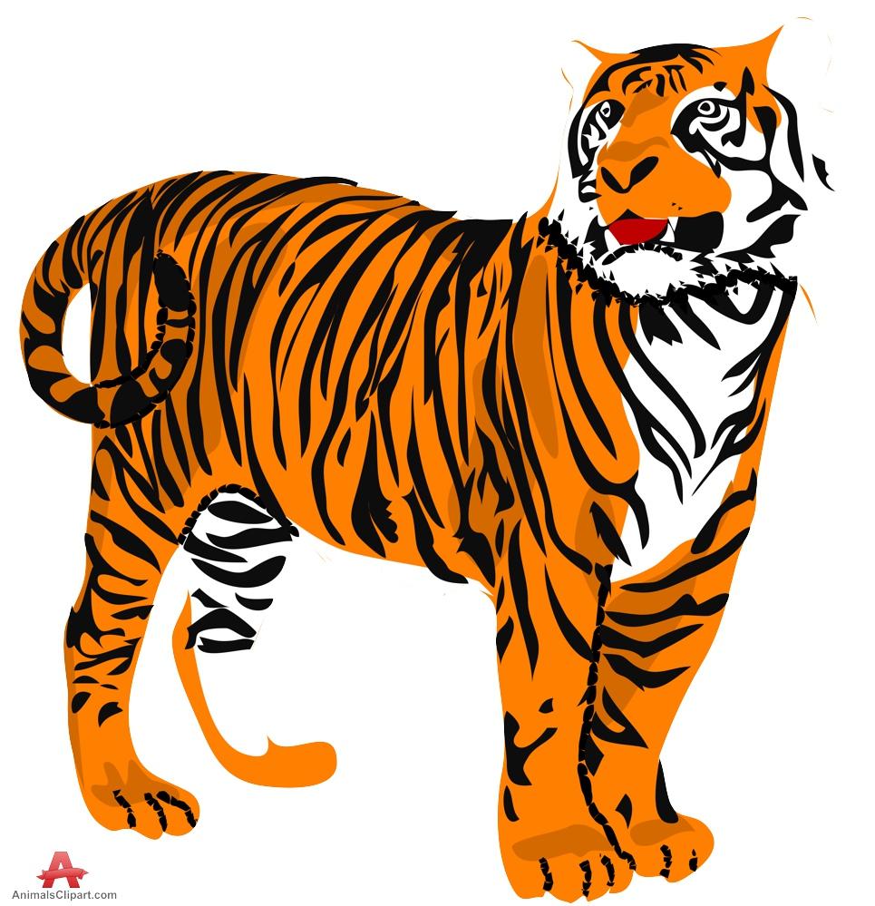 Animl clipart tiger Com 3 art Cliparting clip