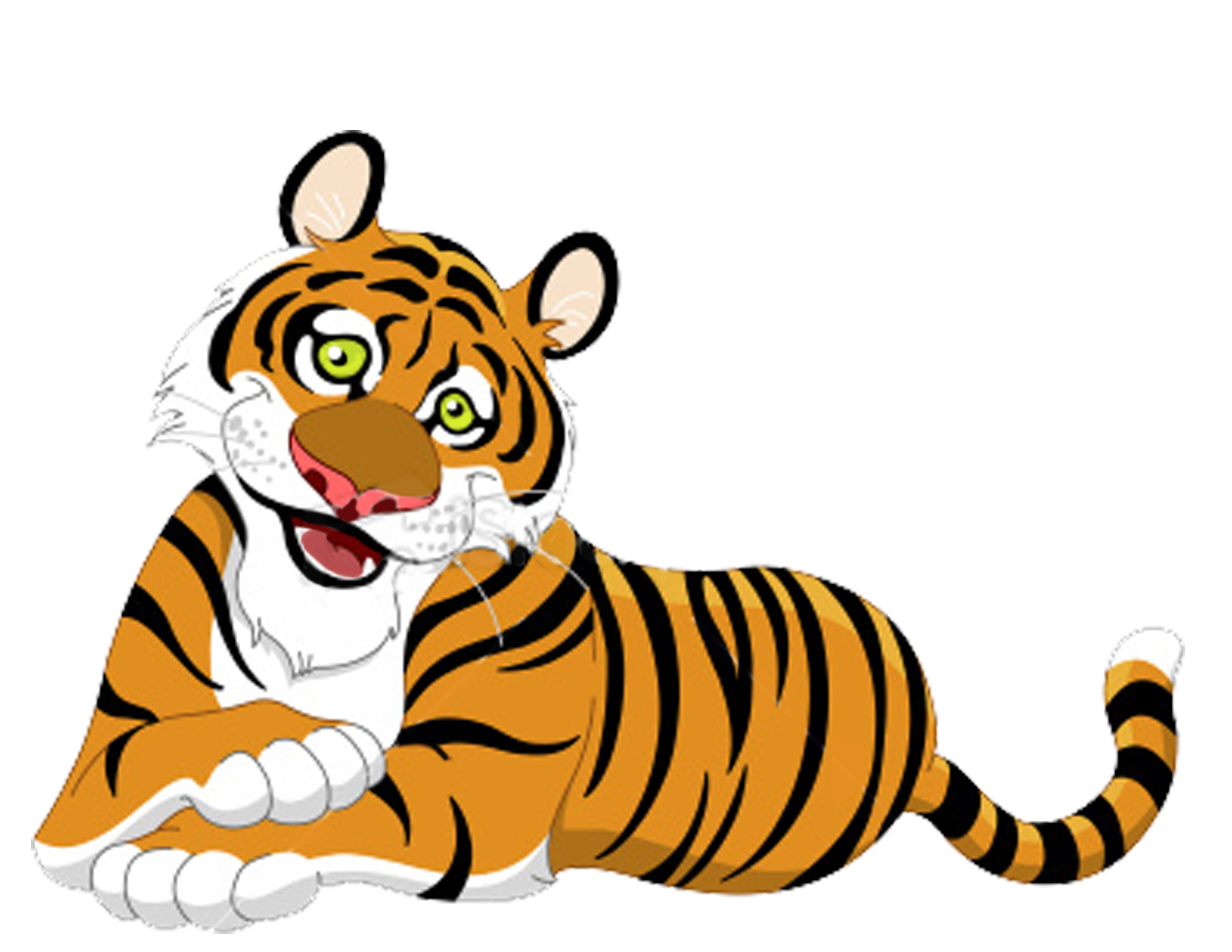 Baby Animal clipart tiger tail Free Download Tiger Panda Clipart