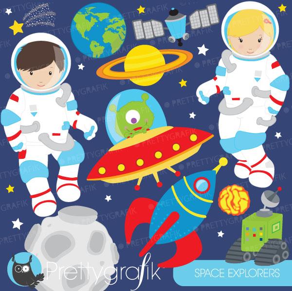 Tiiger clipart astronaut #9