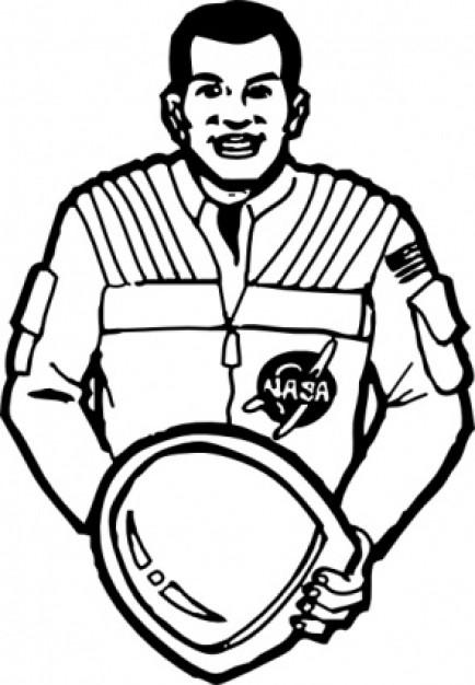 Tiiger clipart astronaut #10
