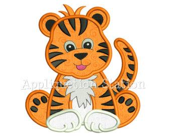 Tiger clipart baby boy #7