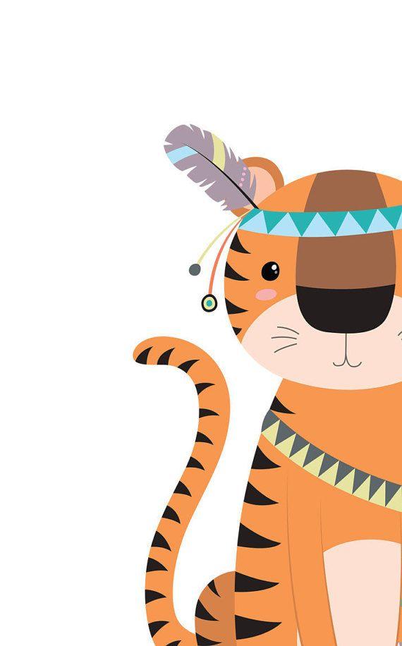 Tiger clipart baby boy #6