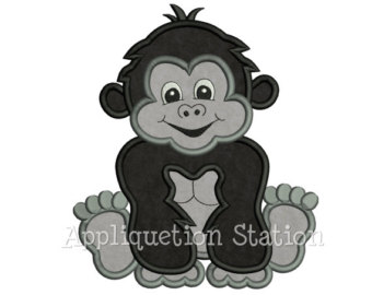 Tiiger clipart baby gorilla #5