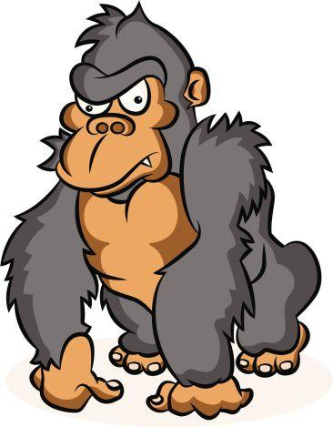 Tiiger clipart baby gorilla #7