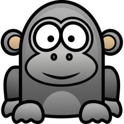 Tiiger clipart baby gorilla #11