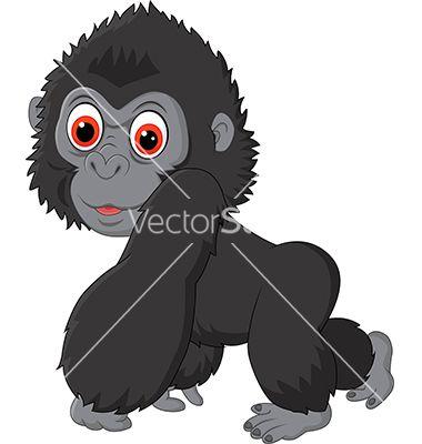 Tiiger clipart baby gorilla #2