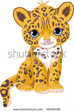 Tiger clipart baby panther BabyPanther of of Illustration Jaguar