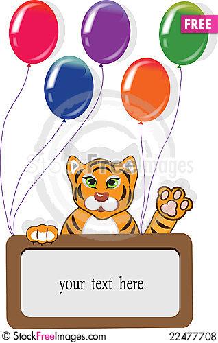 Tiiger clipart birthday #8