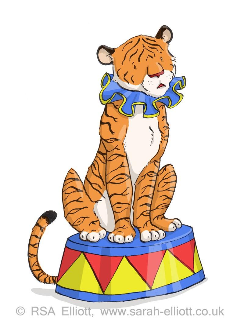 Carneval clipart tiger Tiger Art – Tiger Clipart