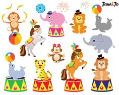 Tiiger clipart carnival #8