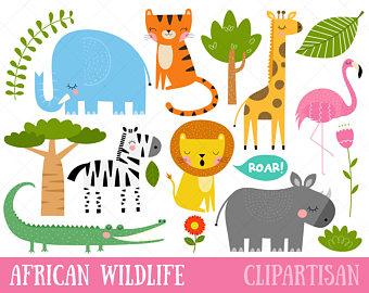 Carneval clipart tiger Circus Art Clipart / Wildlife