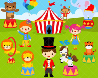 Tiiger clipart carnival #10