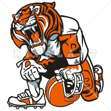 Tigres clipart cheerleading #1