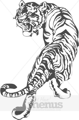Bengal clipart chinese tiger Clipart Chinese Clipart Restaurant Tiger