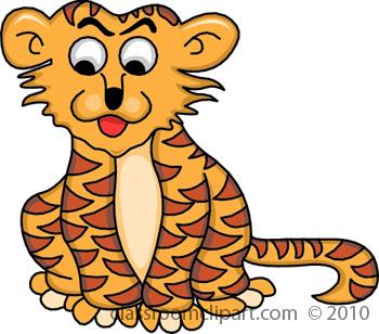 Tiiger clipart tigar #7