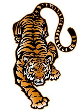 Tigres clipart cheerleading #6