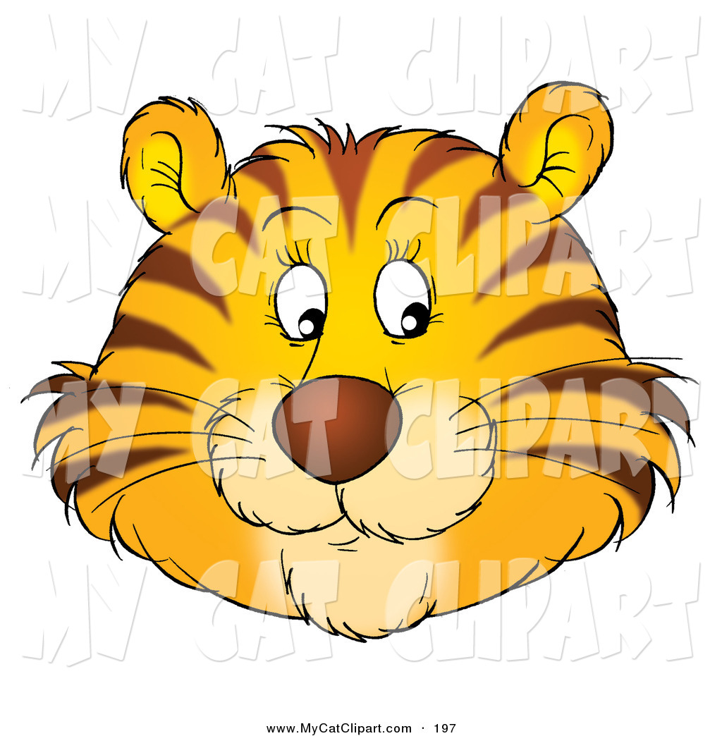 Tiiger clipart friendly #4