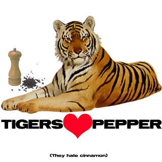 Tiiger clipart funny #6