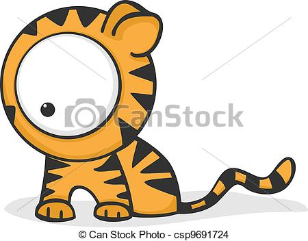 Tiiger clipart funny #13