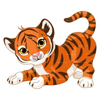 Tiiger clipart funny #12
