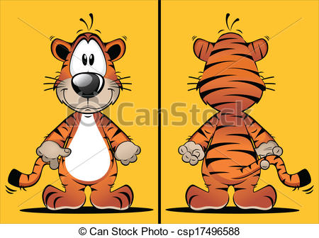 Tiiger clipart funny #5