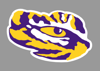 Paw clipart lsu tiger Explore with Tiger the Silhouette