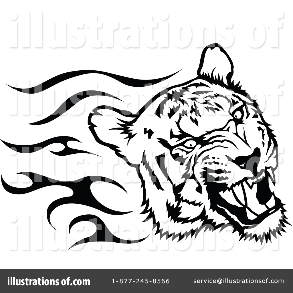 Tiger clipart illustration #13