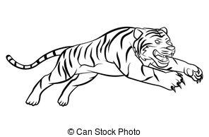 Tiger clipart illustration #12