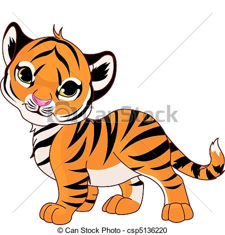 Tiger clipart illustration #5