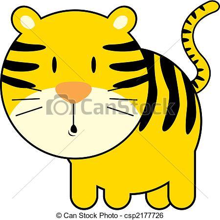 Tiger clipart illustration #9