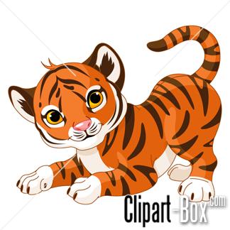 Tiger clipart illustration #8