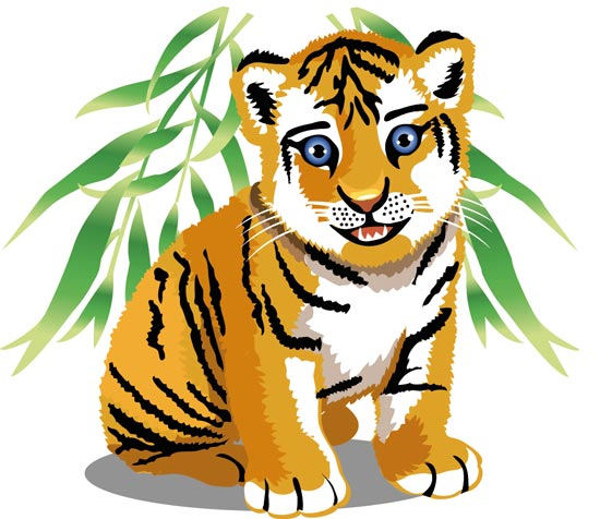 White Tiger clipart jungle animal Images Free Jungle baby%20jungle%20animals%20clipart Animals