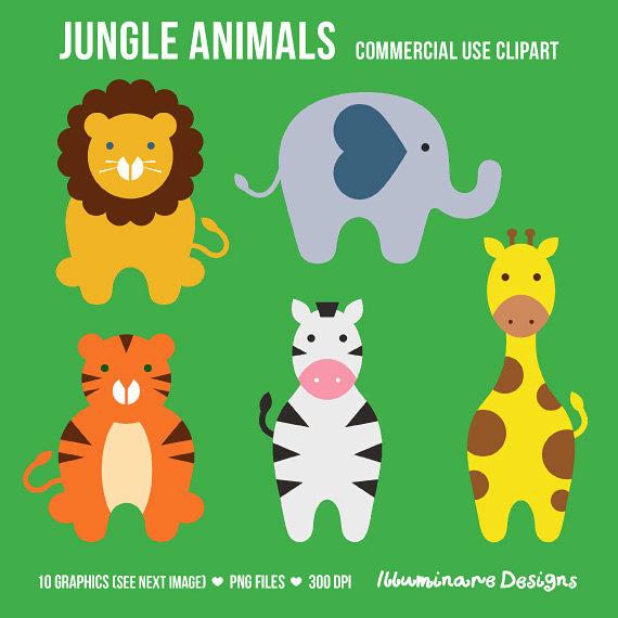 Zebra clipart jungle animal Cliparts animal tiger Cute Cute