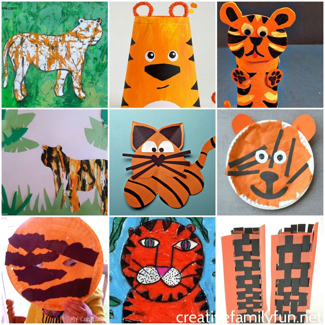 Tiiger clipart learned #2