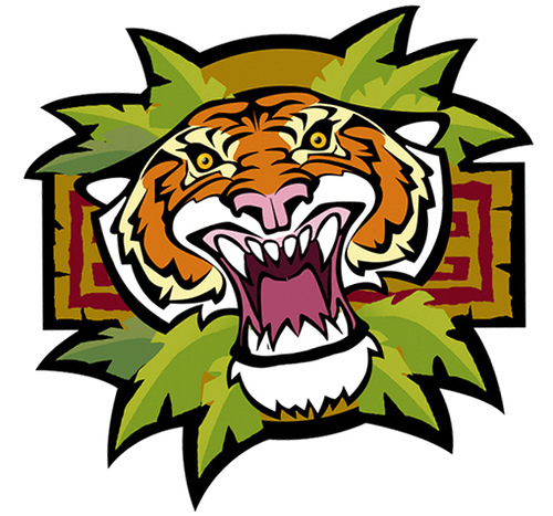 Tiiger clipart learned #6