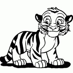 Tiiger clipart learned #5