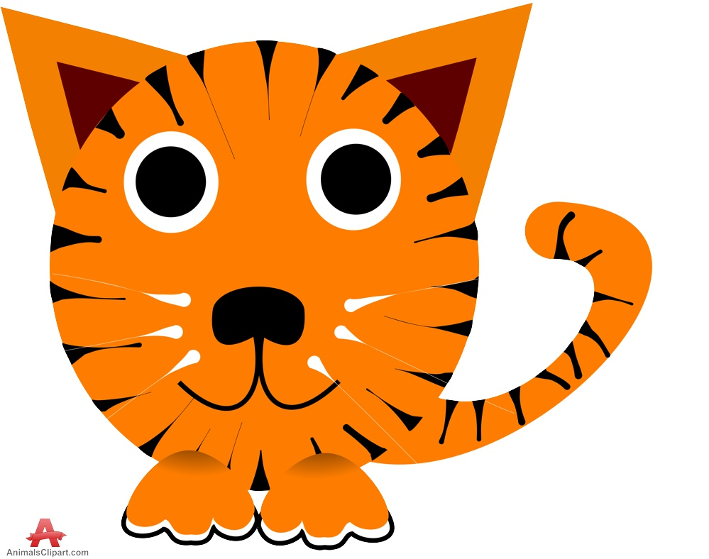 Tiger clipart little #6