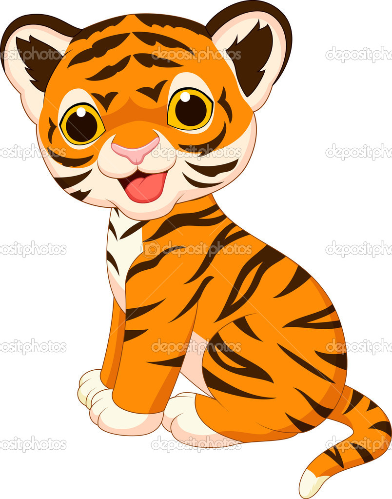 Tiger clipart little #10
