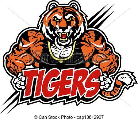Tigres clipart mean #1
