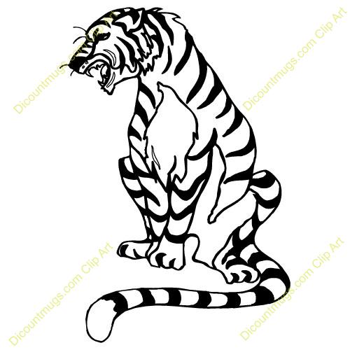 Tiger clipart siberian tiger #5