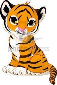Tiger clipart siberian tiger #12