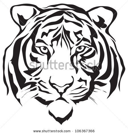 Tiger clipart siberian tiger #11