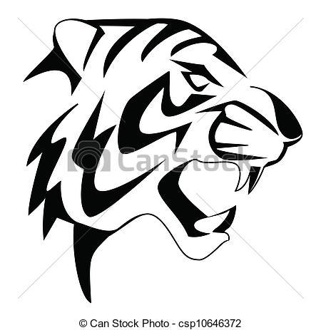 Tigres clipart drawn #2