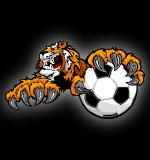 Soccer clipart tiger Tiger Mascot Clip Art Clip
